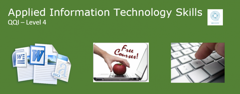 Further Ed Grange CC » Applied Information Technology Skills